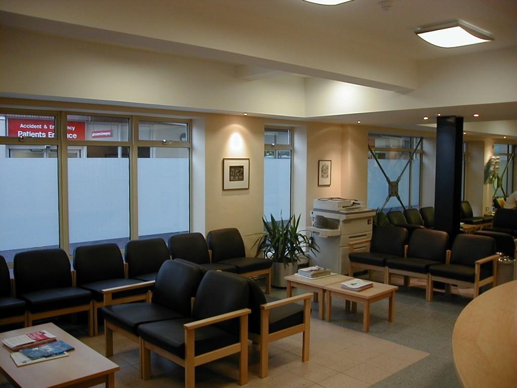 St Stepehens Waiting Area