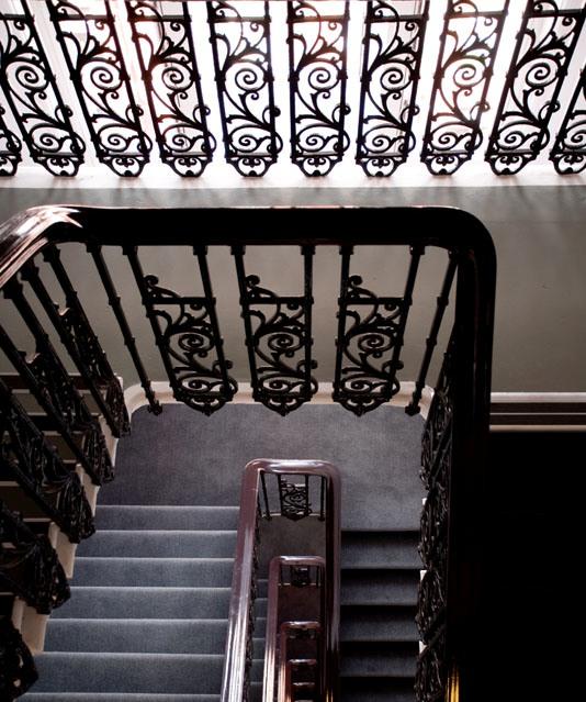 Gordon Mansion Staircase
