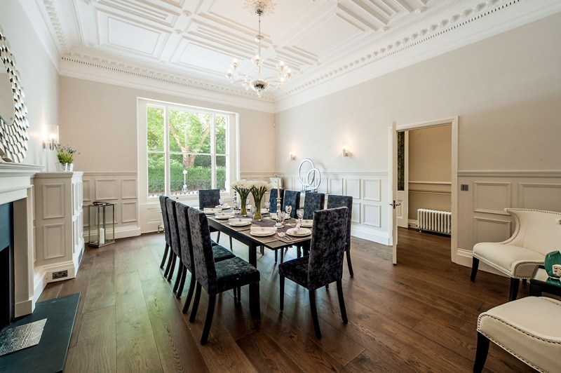 Onslow Gardens Dining Room